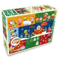 뽀로로 크리스마스 직소퍼즐 100pcs: 선물