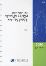 지방자치단체 보육예산과 지역 여성경제활동(2010)