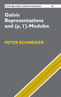 """Galois Representations and (Phi, Gamma)-Modules"""