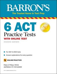6 ACT Practice Tests with Online Test