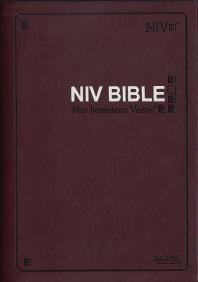 NIV Bible(자주)(색인)(단본)(무지퍼)(자주)(영문)