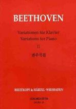 베토벤 변주곡집. 2