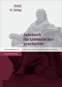 Jahrbuch Fur Universitatsgeschichte 17 (2014)