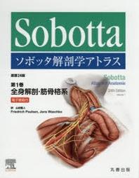 ソボッタ解剖學アトラス 第1卷