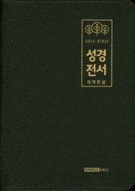 성경전서(블랙)(62HB)(양피지퍼)(개역한글)