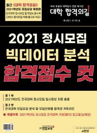정시모집 빅데이터 분석 합격점수 컷(대학 합격의 길)(2021년 1+2월)