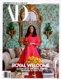 ARCHITECTURAL DIGEST(USA)(2021년 4월호)