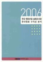 한국 영화산업 실태조사와 한국영화 수익성 분석 2006