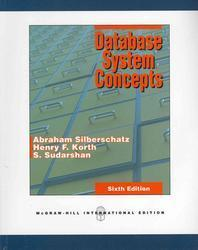 Database System Concepts (Int'l Ed)
