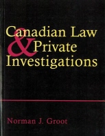 Canadian Law and Private Investigations