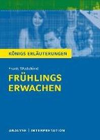 Fruehlings Erwachen von Frank Wedekind.