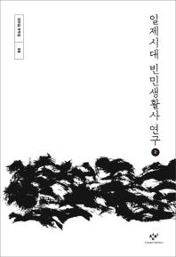 일제시대 빈민생활사 연구. 2(큰글자도서)