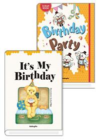 (Story book + Scrap book 세트 2)  It's My Birthday + Birthday Party