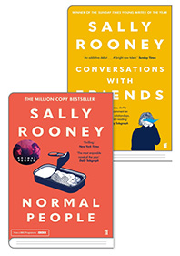 Sally Rooney  Normal People + Conversations with Friends 세트