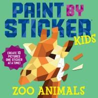 Paint by Sticker Kids: Zoo Animals (스티커 아트북 - 동물원)