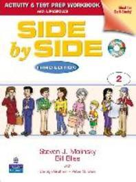 Side by Side Plus 2. (Activity & Test Prep Work Book)