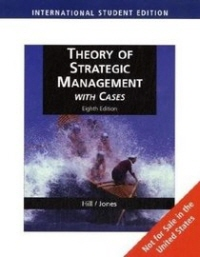 Theory of Strategic Management with Cases  8/E