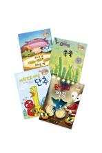 코끼리와 꿀꿀이는 책을 좋아해 시리즈 (우리는 넷 쿠키는 셋 + 쑥쑥 + 아무것도 아닌 단추 + 환상의 짝꿍)