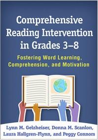Comprehensive Reading Intervention in Grades 3-8