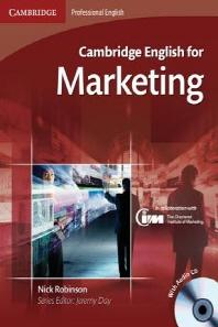 Cambridge English for Marketing(CD1장 포함)