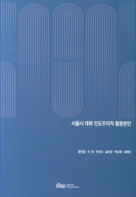 서울시 대북 인도주의적 활동방안