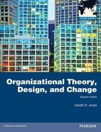 Organizational Theory Design and Change (Paperback)