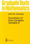 Functions of One Complex Variable II