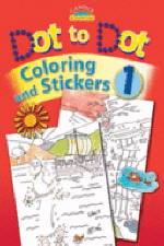 Dot to Dot Coloring and Stickers [With Stickers]