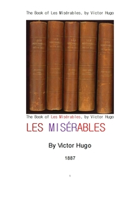 빅토르 위고의 레 미제라블 .The Book of Les Miserables, by Victor Hugo