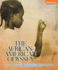 African-American Odyssey, the Volume 2 Plus New Myhistorylab with Etext -- Access Card Package