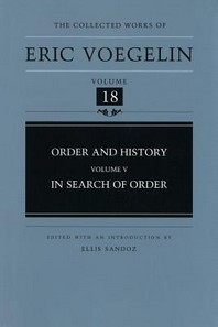 Order and History, Volume 5 (Cw18), 18