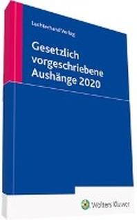 Gesetzlich vorgeschriebene Aushaenge 2020