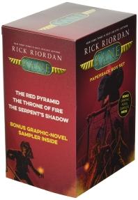 The Kane Chronicles, Paperback Box Set (with Graphic Novel Sampler)