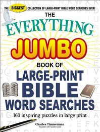 The Everything Jumbo Book of Large-Print Bible Word Searches