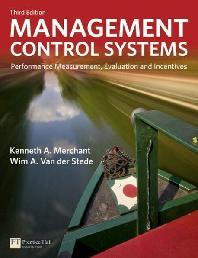 Management Control Systems (Paperback)