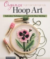 Organza Hoop Art