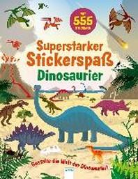 Superstarker Stickerspass. Dinosaurier