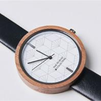[22주년 한정판] 원목 시계(40mm)