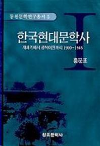 한국현대문학사 1