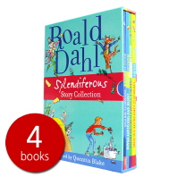 로알드 달 Roald Dahl Splendiferous Story Collection 올 컬러 컬렉션 4권 박스 세트
