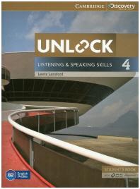 Unlock Listening and Speaking Skills Student's Book. 4