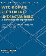 Wto Dispute Settlement Understanding