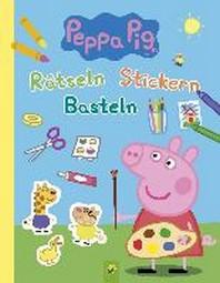Peppa Pig Raetseln Stickern Basteln