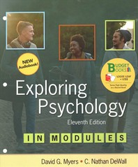 Loose-Leaf Version for Exploring Psychology in Modules & Launchpad for Exploring Psychology in Modules (1-Term Access) [With eBook]
