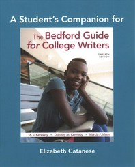 A Student's Companion for the Bedford Guide