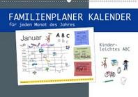 Kinderleichtes ABC - Familienplaner Kalender (Wandkalender 2021 DIN A2 quer)
