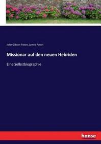 Missionar auf den neuen Hebriden