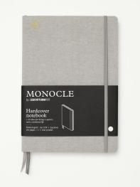 모노클 하드커버 도트 노트 B5 라이트 그레이(Monocle Booklinen Hardcover Dot B5 Light Grey)