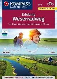 KOMPASS RadReiseFuehrer Erlebnis Weserradweg