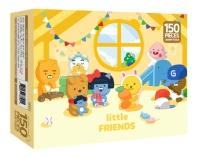 리틀프렌즈 직소 퍼즐 150pcs: 즐거운 리틀프렌즈